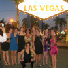 Summer Nightlife in Las Vegas