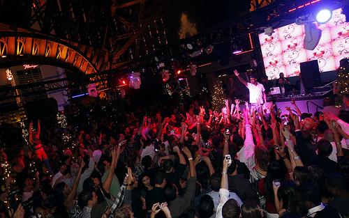 Chateau Nightclub Stage Crowd